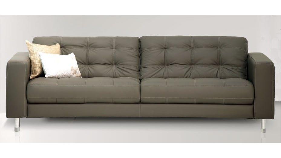 Alessia 3 Seater Sofa Castagna