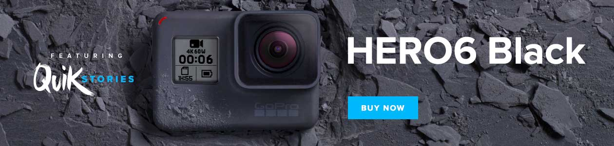GoPro HERO6 Available at Harvey Norman