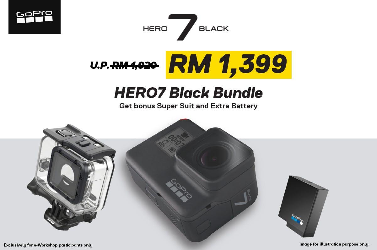 GoPro Hero 7 bundle
